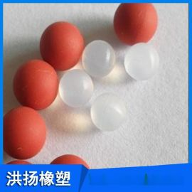 工业用实心橡胶球 耐高温硅胶球 可定做