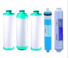 供应贺众牌1-5级全套纯水机滤芯\开水机\饮水机\净水器滤芯