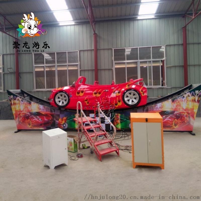 景區新款遊樂設施高大氣派飛車遊藝設施聚龍遊樂