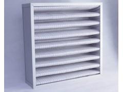 铝框初中效折叠过滤器|效率G3-F9|中央空调预过滤网