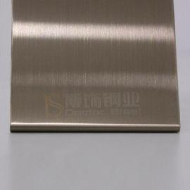 家電器不鏽鋼材料 高比304香檳金拉絲不鏽鋼