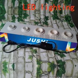 LED灯饰节能灯球泡老化台试灯台展示台展示架
