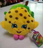 好友毛绒玩具厂家批发水果草莓玩偶菠萝毛绒玩具苹果毛绒公仔