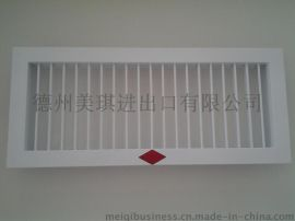 铝合金中央空调风机盘管单层百叶回风口