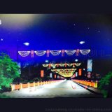 甘肅武威led中國結街燈 led聖誕過街燈 定做led過街燈路燈裝飾
