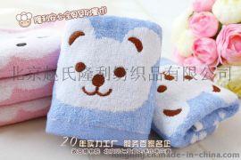 【包邮】20年毛巾高档竹纤维礼品童巾卡通毛巾双条装