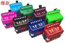 贝贝乐7键2贝司儿童手风琴玩具乐器