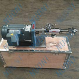 上海诺尼RV0.43微型计量螺杆泵 小型加药螺杆泵