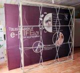 铝合金 拉网展架 喷绘布架子 4X3 展架 签到墙 背景板