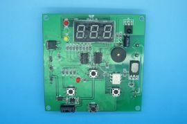 智慧帶定時LCD顯示器風扇調速理療薰蒸控制板PCB電路板開發設計