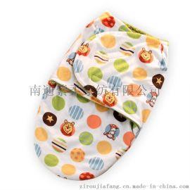 紫柔批发双层短毛绒抱被婴儿睡袋新款新生儿襁褓毯子童毯超柔软襁褓