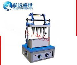 做冰淇淋蛋托机器|4头做雪糕皮机|北京冰淇淋蛋托机|4头冰激凌甜筒机
