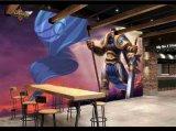 网咖3d游戏壁画 游乐场墙纸定制 商场服装店3D壁画公司