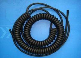 上海百胜聚氨酯弹簧电缆,聚氨酯螺旋电缆生产制造厂家