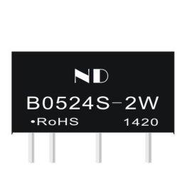 B0524S-2W电源模块,dc-dc升压模块电源定制