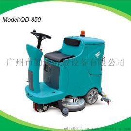 小区物业用驾驶式洗地机 电瓶式工厂驾驶式洗地机全自动洗地车