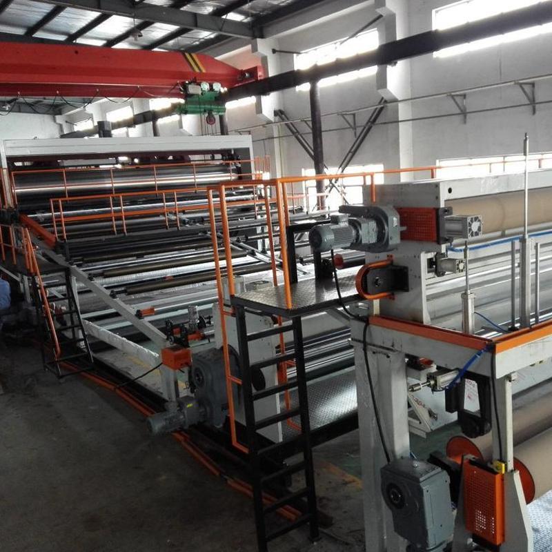 蘇州金韋爾PE/PVC防水卷材生產線