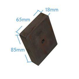 磁铁厂家提供永磁铁氧体磁铁磁石吸铁石门吸磁长方形磁铁F30X10X5