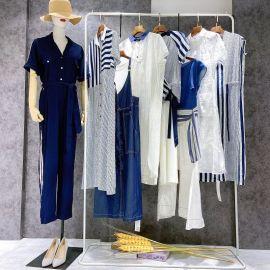 2020夏 原创设计师品牌【轻写】连衣裙 品牌折扣女装 尾货**