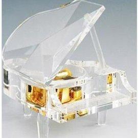 水晶钢琴音乐盒