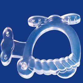 **固齒器**磨牙器 硅膠健齒器 無毒牙膠