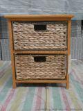 储物柜沙发柜床头柜卧室柜床边柜室内柜子收纳柜草编柜实木柜