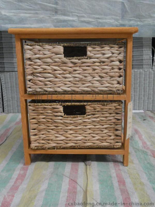 儲物櫃沙發櫃牀頭櫃臥室櫃牀邊櫃室內櫃子收納櫃草編櫃實木櫃