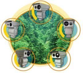 热点智能探测告警双波段热成像仪摄像机