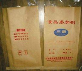 厂家销售25KG食品添加剂牛皮纸袋 三合一