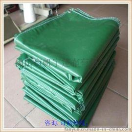 帆宇牌优质涂塑布批发-绿色盖货防雨帆布定做