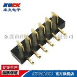 笔记本电池座插座连接器B05M公座3-11Pin 间距2.5PH 刀片式接触片