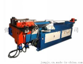 金属碳钢管弯管机DW89NC液压半自动弯管机