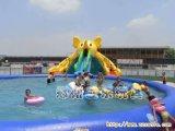 充气游泳池 PVC定制儿童充气游泳池