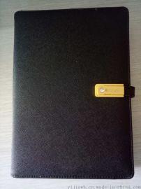 定做多功能充电记事本创意U盘移动电源记事本商务套装
