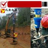 螺旋地桩钻机,钩机螺旋钻,挖掘机螺旋钻机厂