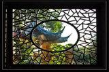 文化乐园怀旧古典铝花窗 休闲乐园仿古铝花窗