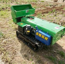果园开沟施肥机,履带式田园管理机