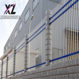 工厂围栏护栏,工厂围墙锌钢护栏,工厂围墙栏杆厂家