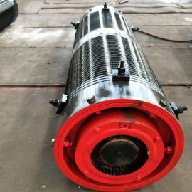 热销产品20吨卷筒组φ500*1800卷筒组 25钢板厚 超载限制器 大齿轮卷筒 黑龙江钢丝绳卷筒