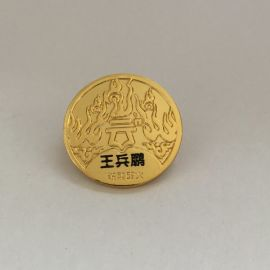 成都胸针定制金属徽章厂家企业logo徽章制作