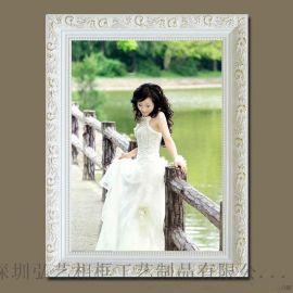 欧式木制相框 生产定制 20-30寸大规格出口画框 油画装裱画框