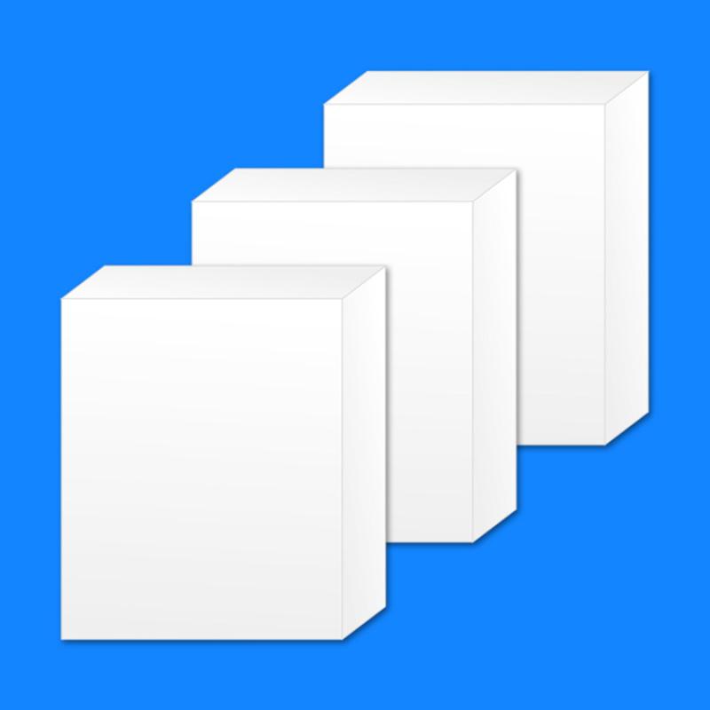 纸盒定制白盒现货小白盒尺寸84x33x102mm