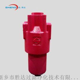 新乡胜达SDDDFF型高压铸钢过滤器液压系统油管路油除杂质过滤设备