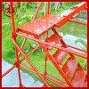 建宇批发 厂家直销香蕉式脚手架 桥梁施工安全爬梯 钢管支架