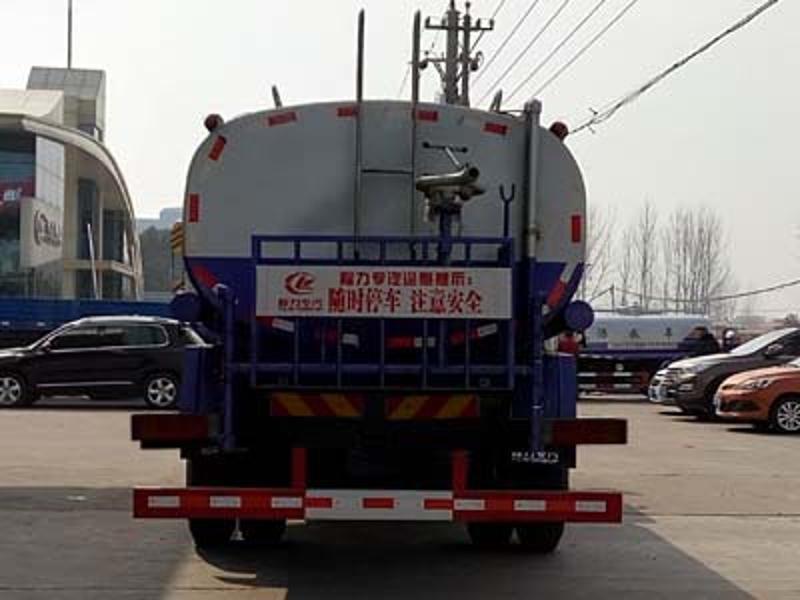 东风15吨洒水车|程力15方东风153喷洒水车