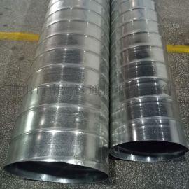 求购镀锌螺旋风管及风管配件选佛山通畅螺旋风管厂