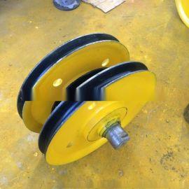 20t钢铁造船厂用滑轮组 天车起重滑轮组 钢制滑轮