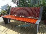 戶外防腐休閒座椅公園座椅室外公共實木長座椅