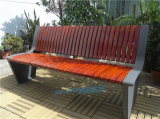 户外防腐休闲座椅公园座椅室外公共实木长座椅
