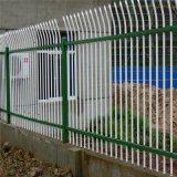 重庆市小区围栏锌钢护栏铁艺围墙方管护栏网